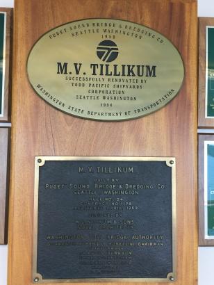 tillikum plaques